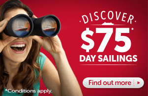 $75 Day Sailings