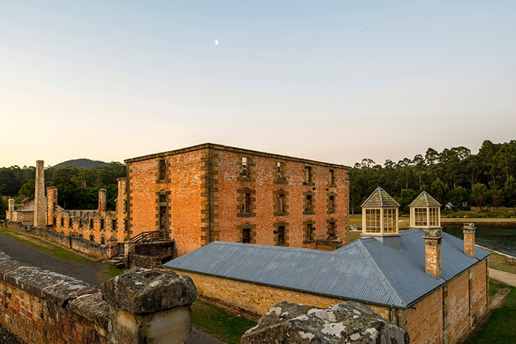 Port Arthur's picturesque landscape