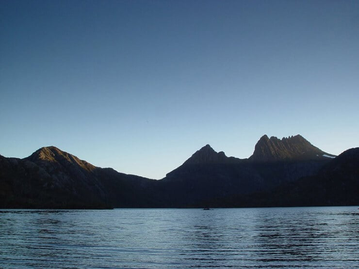 Cradle Mountain backdrop